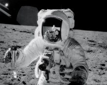 Apollo Mission Hasseblad Space Camera on Moon