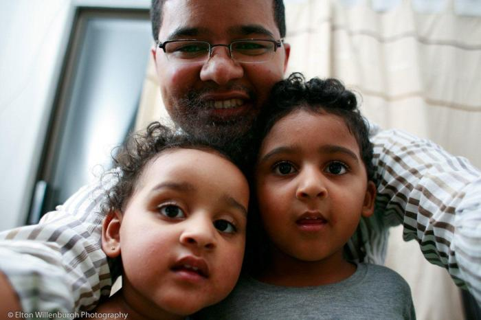 Riley, Faith & Uncle Elton :)
