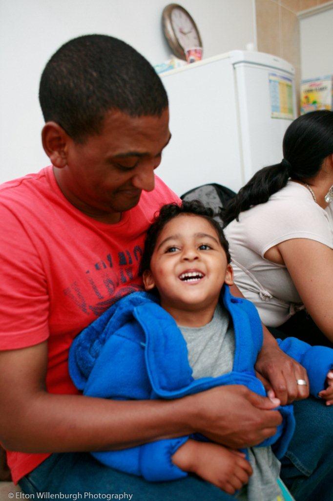 Riley & his dad